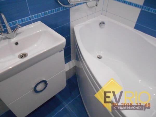 Ремонт ванной комнаты. Северск, Калинина, 137