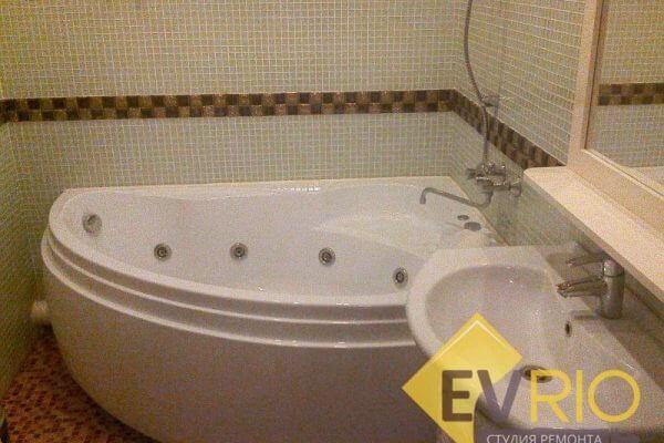 Установка ванны-джакузи